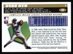 1996 Topps #69  Robb Nen  Back Thumbnail