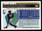 1996 Topps #70  Ron Gant  Back Thumbnail