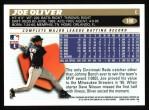 1996 Topps #108  Joe Oliver  Back Thumbnail