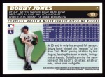 1996 Topps #133  Bobby Jones  Back Thumbnail