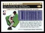 1996 Topps #182  Ken Caminiti  Back Thumbnail