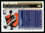 1996 Topps #251  Lee Smith  Back Thumbnail
