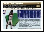 1996 Topps #307  Jose Vizcaino  Back Thumbnail