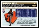 1996 Topps #332  Aaron Sele  Back Thumbnail