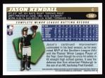 1996 Topps #342  Jason Kendall  Back Thumbnail