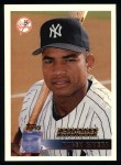 1996 Topps #346  Ruben Rivera  Front Thumbnail