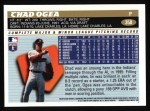 1996 Topps #358  Chad Ogea  Back Thumbnail