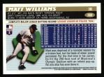 1996 Topps #360  Matt Williams  Back Thumbnail
