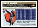 1996 Topps #56  Greg Gagne  Back Thumbnail