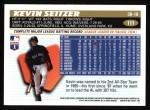 1996 Topps #111  Kevin Seitzer  Back Thumbnail