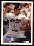 1996 Topps #358  Chad Ogea  Front Thumbnail