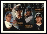 1996 Topps #424  Ron Wright / Derrek Lee  Front Thumbnail