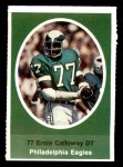 1972 Sunoco Stamps  Ernie Calloway  Front Thumbnail