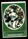 1972 Sunoco Stamps  Harold Carmichael  Front Thumbnail