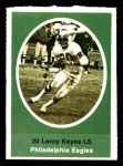 1972 Sunoco Stamps  Leroy Keyes  Front Thumbnail