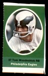 1972 Sunoco Stamps  Tom Woodeshick  Front Thumbnail