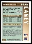 1996 Topps #25  Sean Casey  Back Thumbnail