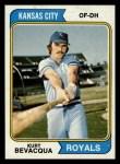 1974 Topps #454  Kurt Bevacqua  Front Thumbnail