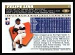 1996 Topps #71  Felipe Lira  Back Thumbnail