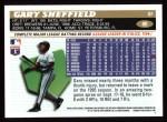 1996 Topps #80  Gary Sheffield  Back Thumbnail