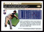 1996 Topps #189  John Smoltz  Back Thumbnail