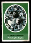 1972 Sunoco Stamps  Henry Allison  Front Thumbnail