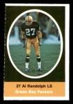 1972 Sunoco Stamps  Al Randolph  Front Thumbnail