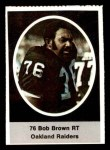 1972 Sunoco Stamps #462  Bob Brown  Front Thumbnail