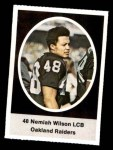 1972 Sunoco Stamps #476  Nemiah Wilson  Front Thumbnail