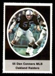 1972 Sunoco Stamps #474  Dan Conners  Front Thumbnail