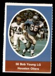 1972 Sunoco Stamps  Bob Young  Front Thumbnail