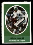 1972 Sunoco Stamps  Pete Liske  Front Thumbnail