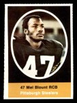 1972 Sunoco Stamps  Mel Blount  Front Thumbnail