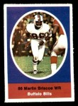 1972 Sunoco Stamps  Marlin Briscoe  Front Thumbnail