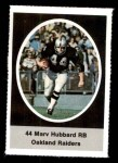 1972 Sunoco Stamps #466  Marv Hubbard  Front Thumbnail