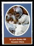 1972 Sunoco Stamps  Lynn Dickey  Front Thumbnail
