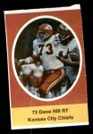 1972 Sunoco Stamps  Dave Hill  Front Thumbnail
