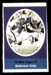 1972 Sunoco Stamps #26  Bob Vogel  Front Thumbnail