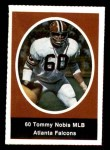 1972 Sunoco Stamps  Tommy Nobis  Front Thumbnail