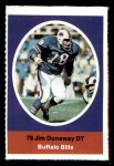 1972 Sunoco Stamps #62  Jim Dunaway  Front Thumbnail