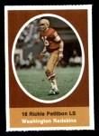 1972 Sunoco Stamps #622  Richie Petitbon  Front Thumbnail