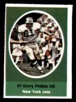 1972 Sunoco Stamps  Gerry Philbin  Front Thumbnail