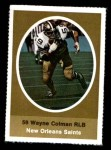 1972 Sunoco Stamps  Wayne Colman  Front Thumbnail