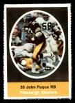 1972 Sunoco Stamps  John Fuqua  Front Thumbnail