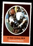 1972 Sunoco Stamps  Dale Lindsey  Front Thumbnail
