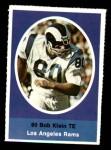 1972 Sunoco Stamps  Bob Klein  Front Thumbnail