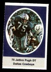 1972 Sunoco Stamps  Jethro Pugh  Front Thumbnail