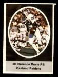 1972 Sunoco Stamps #467  Clarence Davis  Front Thumbnail