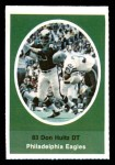 1972 Sunoco Stamps  Don Hultz  Front Thumbnail