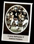 1972 Sunoco Stamps #480  Jerry DePoyster  Front Thumbnail